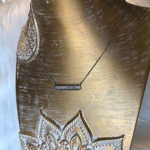 Jewelry - Express Baguette Bar Pendant Necklace